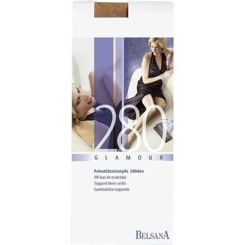 BELSANA 280den glamour AD M siena lang MSP, 2 ST, Belsana Medizinische Erzeugnisse