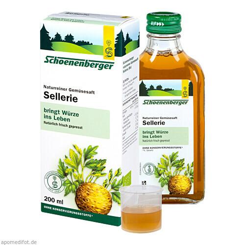 SELLERIE SCHOENENBERGER HEILPFLANZENSÄFTE, 200 ML, Salus Pharma GmbH