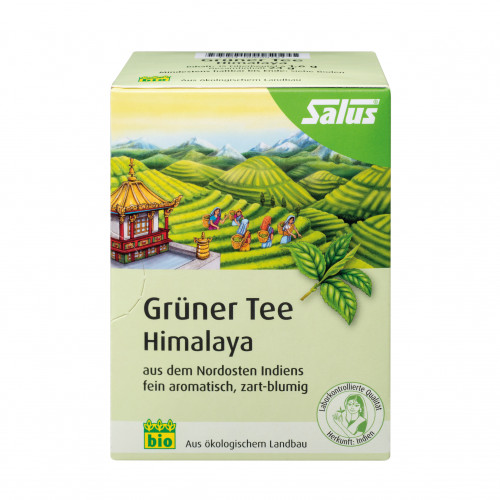 Grüner Tee Himalaya bio Salus, 15 ST, Salus Pharma GmbH