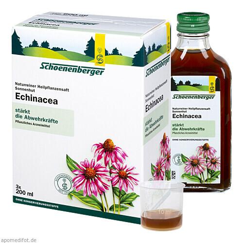 ECHINACEA SCHOENENBERGER HEILPFLANZENSÄFTE, 3X200 ML, Salus Pharma GmbH