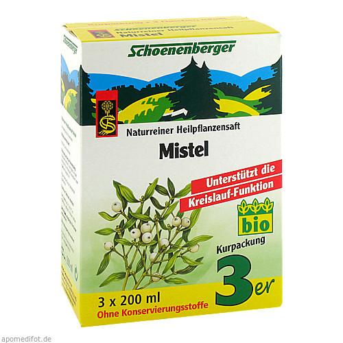 MISTEL SCHOENENBERGER HEILPFLANZENSÄFTE, 3X200 ML, Salus Pharma GmbH