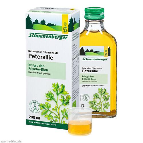 PETERSILIE SCHOENENBERGER HEILPFLANZENSÄFTE, 200 ML, Salus Pharma GmbH