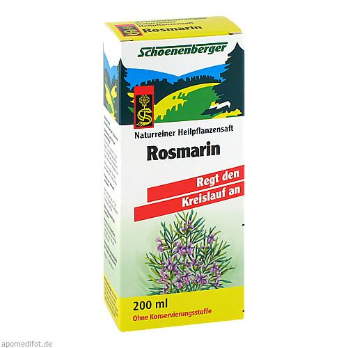 ROSMARIN SCHOENENBERGER HEILPFLANZENSÄFTE, 200 ML, Salus Pharma GmbH