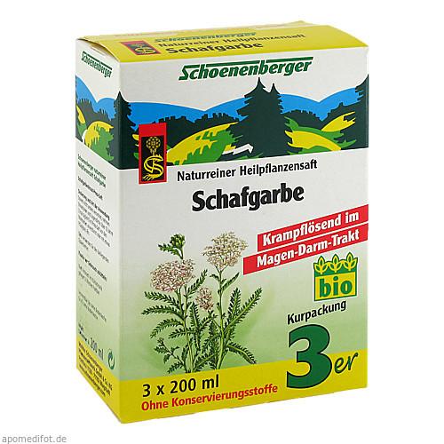 SCHAFGARBE SCHOENENBERGER HEILPFLANZENSÄFTE, 3X200 ML, Salus Pharma GmbH