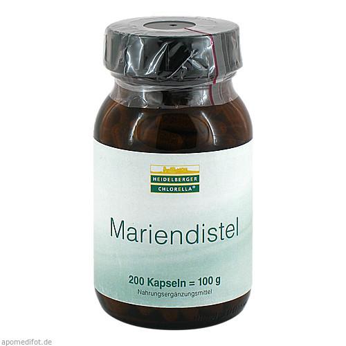 Mariendistel Pulver, 200 ST, Heidelberger Chlorella GmbH