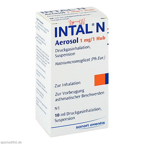 Intal N, 10 ML, Sanofi-Aventis Deutschland GmbH