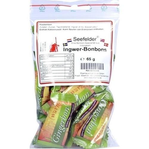 Ingwer-Bonbons KDA Seefelder, 65 G, Kda Pharmavertrieb Arndt GmbH