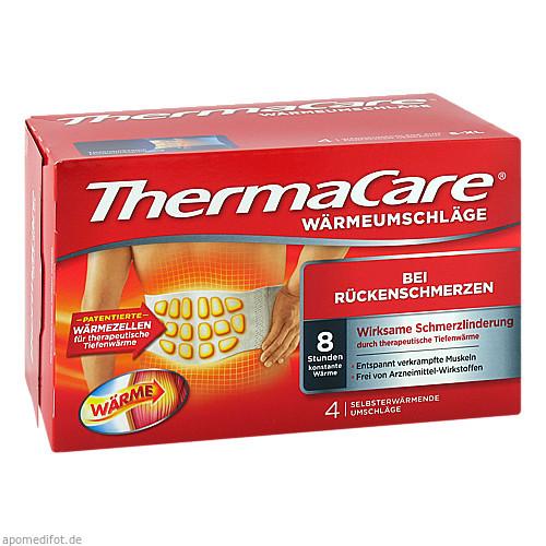 ThermaCare Rückenumschläge S-XL z.Schmerzlinderung, 4 ST, Pfizer Consumer Healthcare GmbH