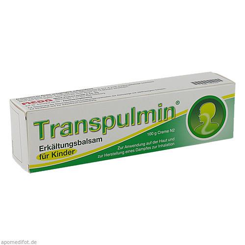 Transpulmin Erkältungsbalsam für Kinder, 100 G, MEDA Pharma GmbH & Co.KG