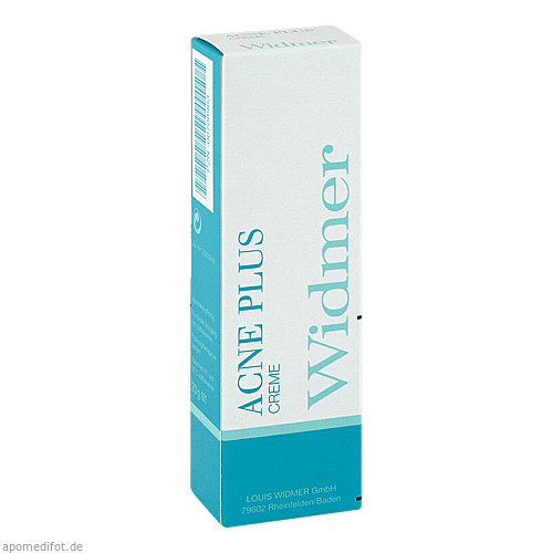 WIDMER ACNE PLUS Creme, 20 G, Louis Widmer GmbH