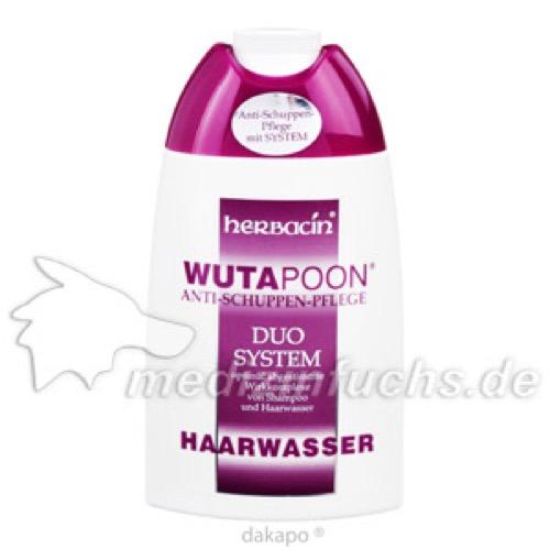 Wutapoon Classic Haarwasser, 200 ML, Herbacin Cosmetic GmbH