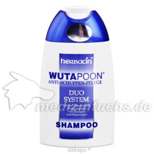 Wutapoon Classic Haarwäsche gegen Schuppen, 200 ML, Herbacin Cosmetic GmbH