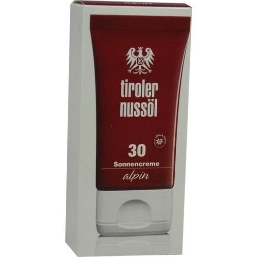 Tiroler Nussöl alpin Sonnencreme LSF 30, 40 ML, Dermapharm AG