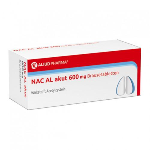 NAC AL akut 600mg Brausetabletten, 20 ST, Aliud Pharma GmbH