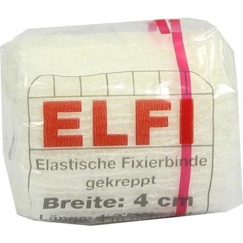 DracoELFI Elast.Fixierbinde gekreppt 4mx4cm cello, 1 ST, Dr. Ausbüttel & Co. GmbH