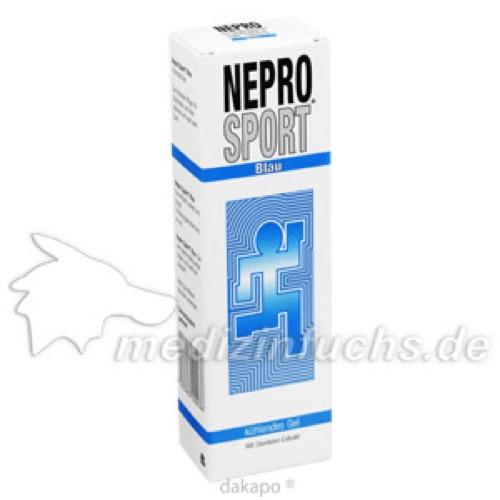 Nepro Sport blau, 100 ML, Nestmann Pharma GmbH