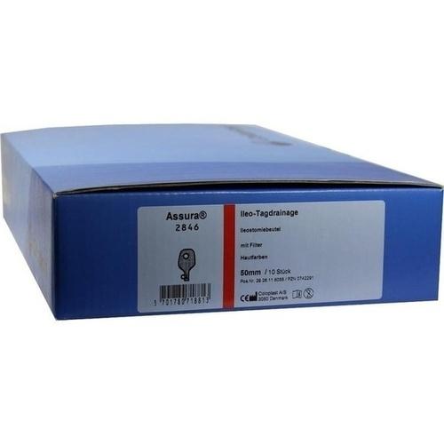 Assura Ileo Tagdrainage 2-tlg 2846 Rastring 50mm, 10 ST, Coloplast GmbH