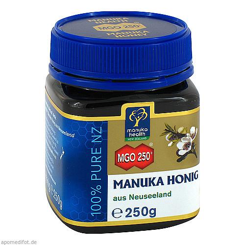 MANUKA-Honig MGO 250+, 250 G, Neuseelandhaus GmbH
