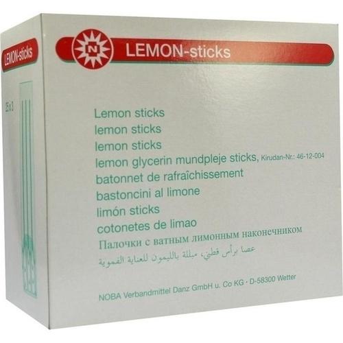 LEMON STICKS, 25X3 ST, Nobamed Paul Danz AG