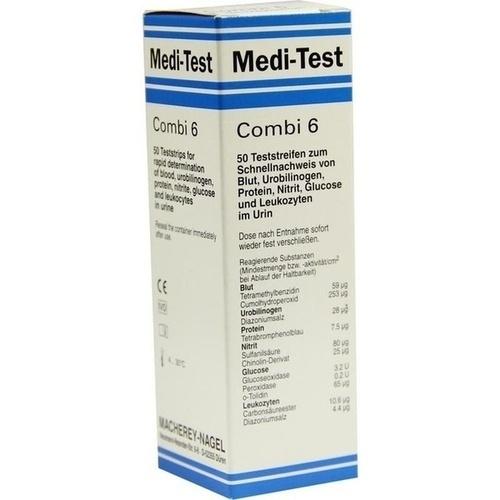 Medi-Test Combi 6, 50 ST, Macherey-Nagel GmbH & Co. KG