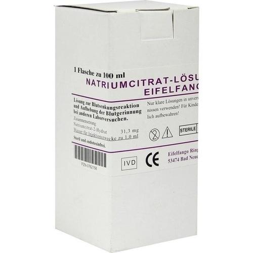 Natriumcitrat-Lösung 3.13% Eifelfango, 100 ML, Eifelfango GmbH & Co. KG