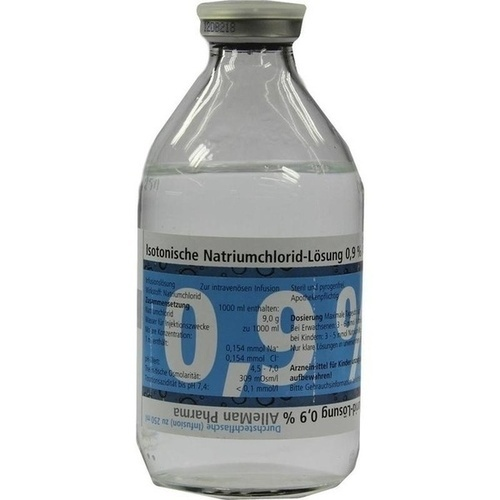 Kochsalzlösung 0.9% Glas, 5X250 ML, DELTAMEDICA GmbH