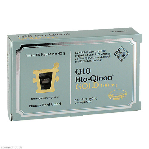 Q10 Bio-Qinon GOLD 100mg Pharma Nord, 60 ST, Pharma Nord Vertriebs GmbH