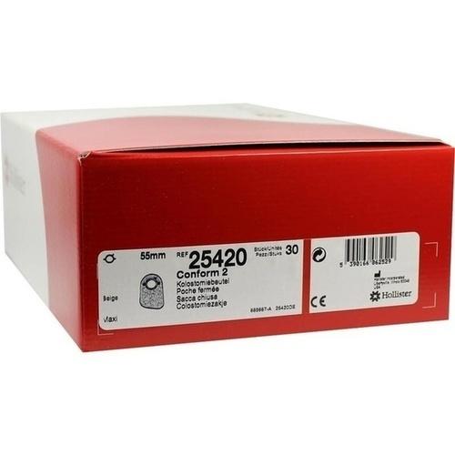 Conform 2 Kolostomiebeutel maxi 25420, 30 ST, Hollister Incorporated