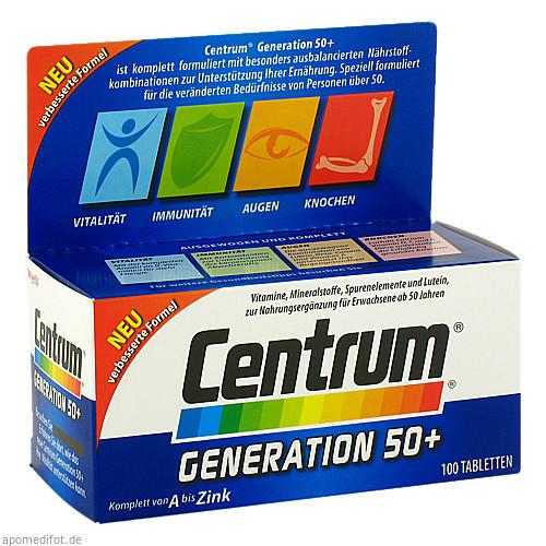 Centrum GENERATION 50+ +Lutein, 100 ST, Hecht-Pharma GmbH