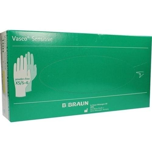 VASCO sensitive Untersuchungshandschuh Gr. XS, 100 ST, B. Braun Melsungen AG