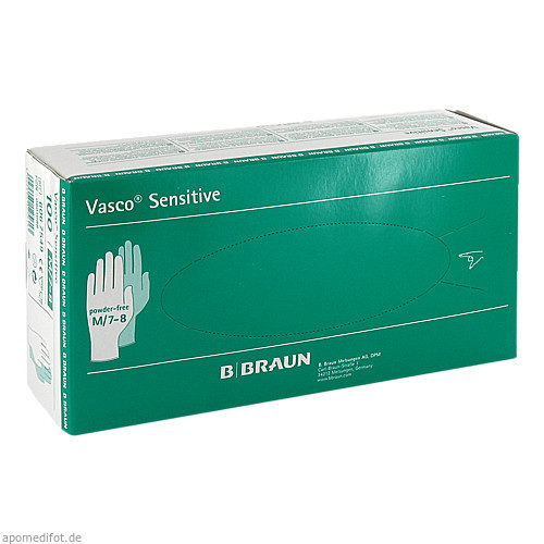 Vasco Sensitive M UH, 100 ST, B. Braun Melsungen AG
