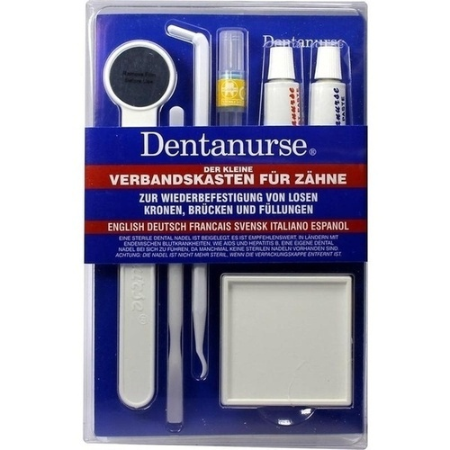 DENTANURSE Dental Notfall Set m.Flachpackung, 1 ST, Tropicare Deutschland GmbH