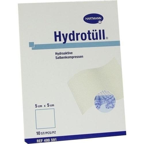 HYDROTUELL hydroaktive Salbenkompressen 5x5 cm, 10 ST, PAUL HARTMANN AG