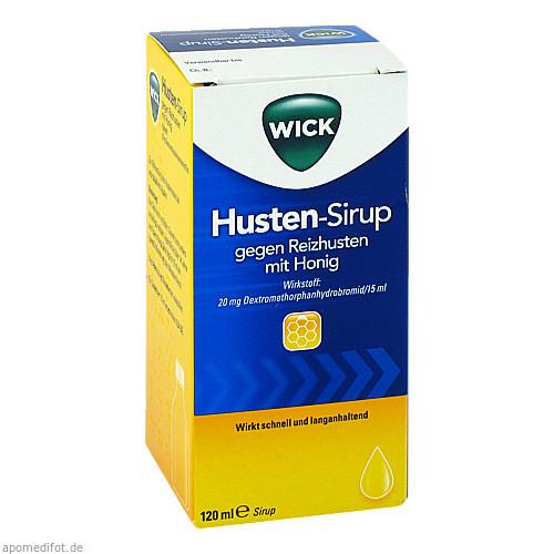 WICK Husten-Sirup gegen Reizhusten mit Honig, 120 ML, Procter & Gamble GmbH