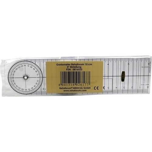 Goniometer Rehaforum 15cm, 1 ST, Rehaforum Medical GmbH