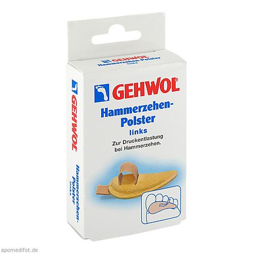 GEHWOL Hammerzehenpolster links Gr.2, 1 ST, Eduard Gerlach GmbH
