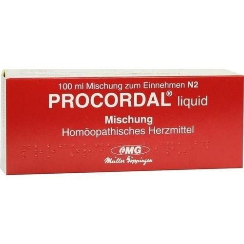 Procordal liquid Mischung, 100 ML, Combustin Pharmaz. Präparate GmbH