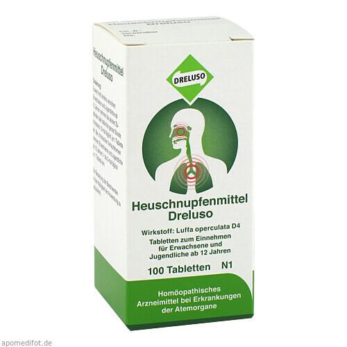 HEUSCHNUPFENMITTEL DRELUSO, 100 ST, Dreluso-Pharmazeutika Dr.Elten & Sohn GmbH