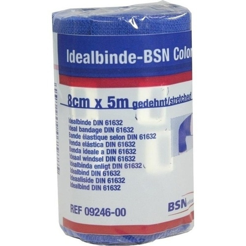 Idealbinde bmp Color 5mX8cm BLAU, 1 ST, Bsn Medical GmbH