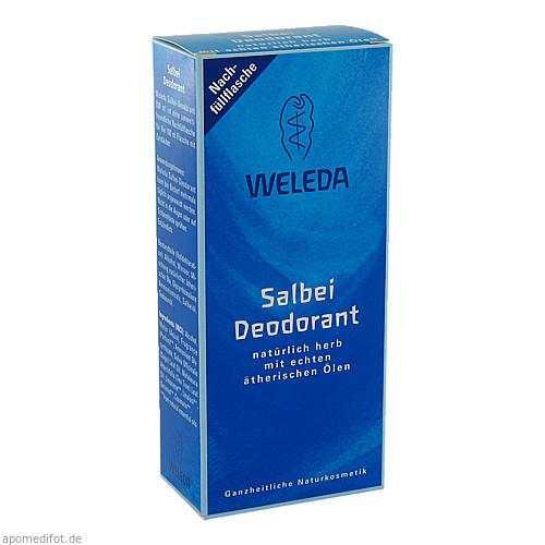 WELEDA Salbei Deodorant Nachfüllflasche, 200 ML, Weleda AG
