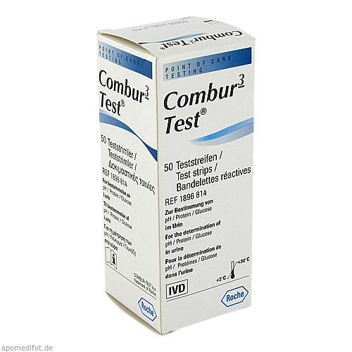 Combur 3-Test, 50 ST, Roche Diagnostics Deutschland GmbH