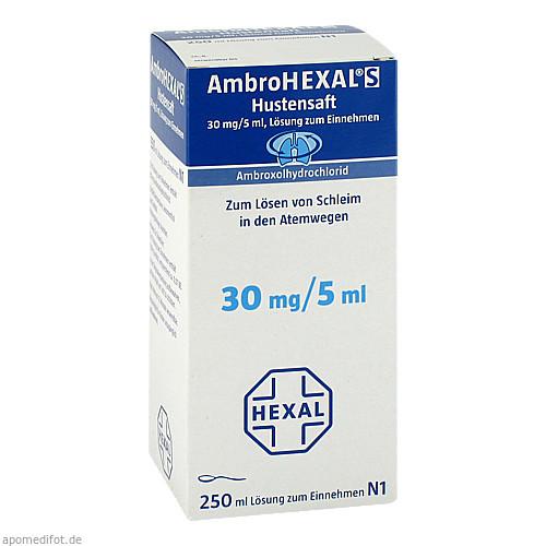 AmbroHEXAL S Saft, 250 ML, HEXAL AG