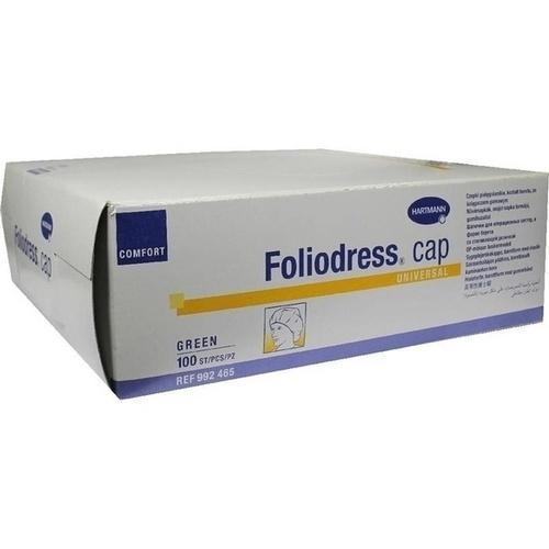 Foliodress cap Comfort Universal grün OP-Hauben, 100 ST, Paul Hartmann AG