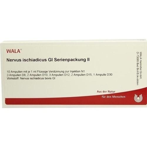 Nervus ischiadicus Gl Serienpackung II, 10X1 ML, Wala Heilmittel GmbH