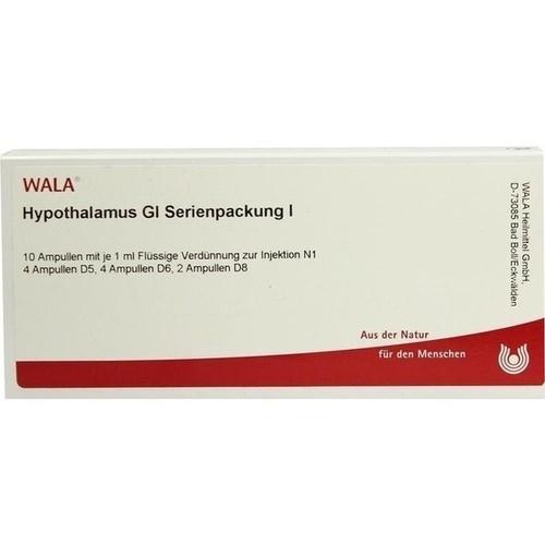 Hypothalamus Gl Serienpackung I, 10X1 ML, Wala Heilmittel GmbH