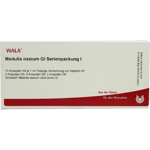 Medulla ossium Gl Serienpackung I, 10X1 ML, Wala Heilmittel GmbH