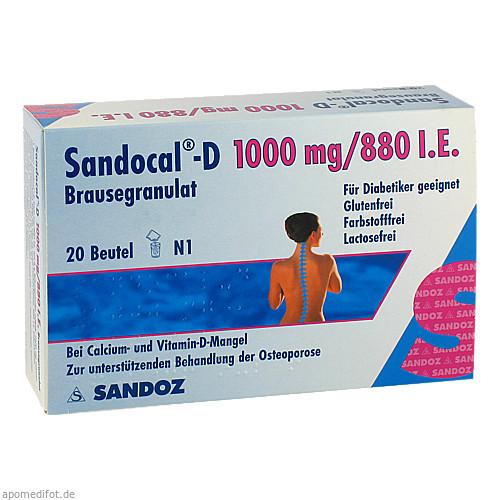 Sandocal-D 1000/880, 20 ST, HEXAL AG