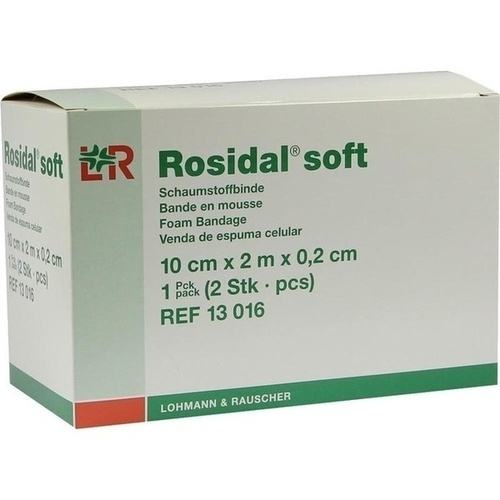 Rosidal Soft 10x0.2cmx2m, 2 ST, Lohmann & Rauscher GmbH & Co. KG