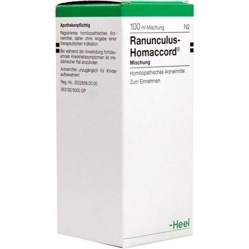 RANUNCULUS HOMACCORD, 100 ML, Biologische Heilmittel Heel GmbH