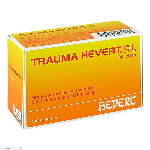 TRAUMA HEVERT SL Tabletten, 100 ST, Hevert Arzneimittel GmbH & Co. KG
